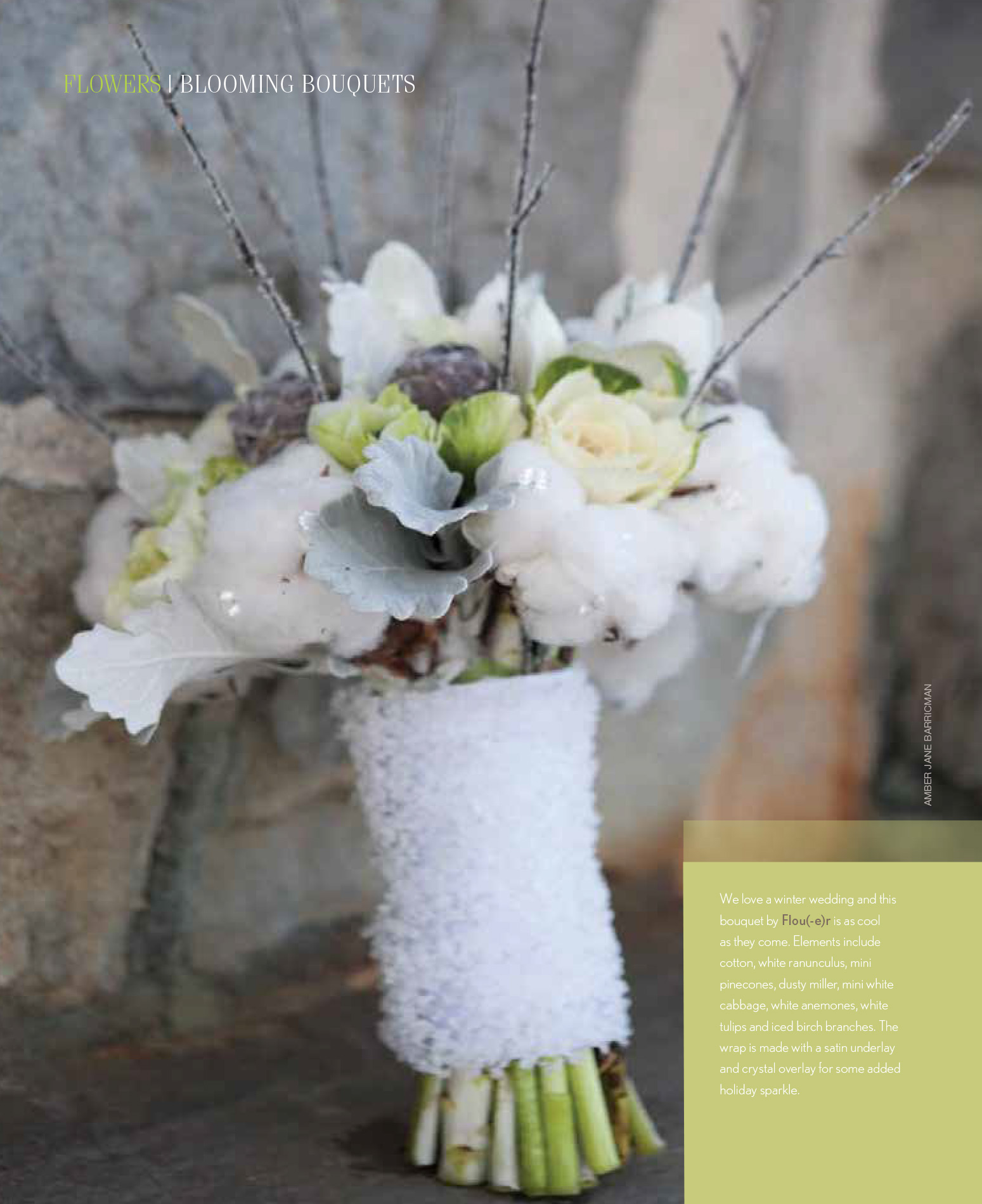 Southern New England Weddings 2014 - Blooming Bouquets