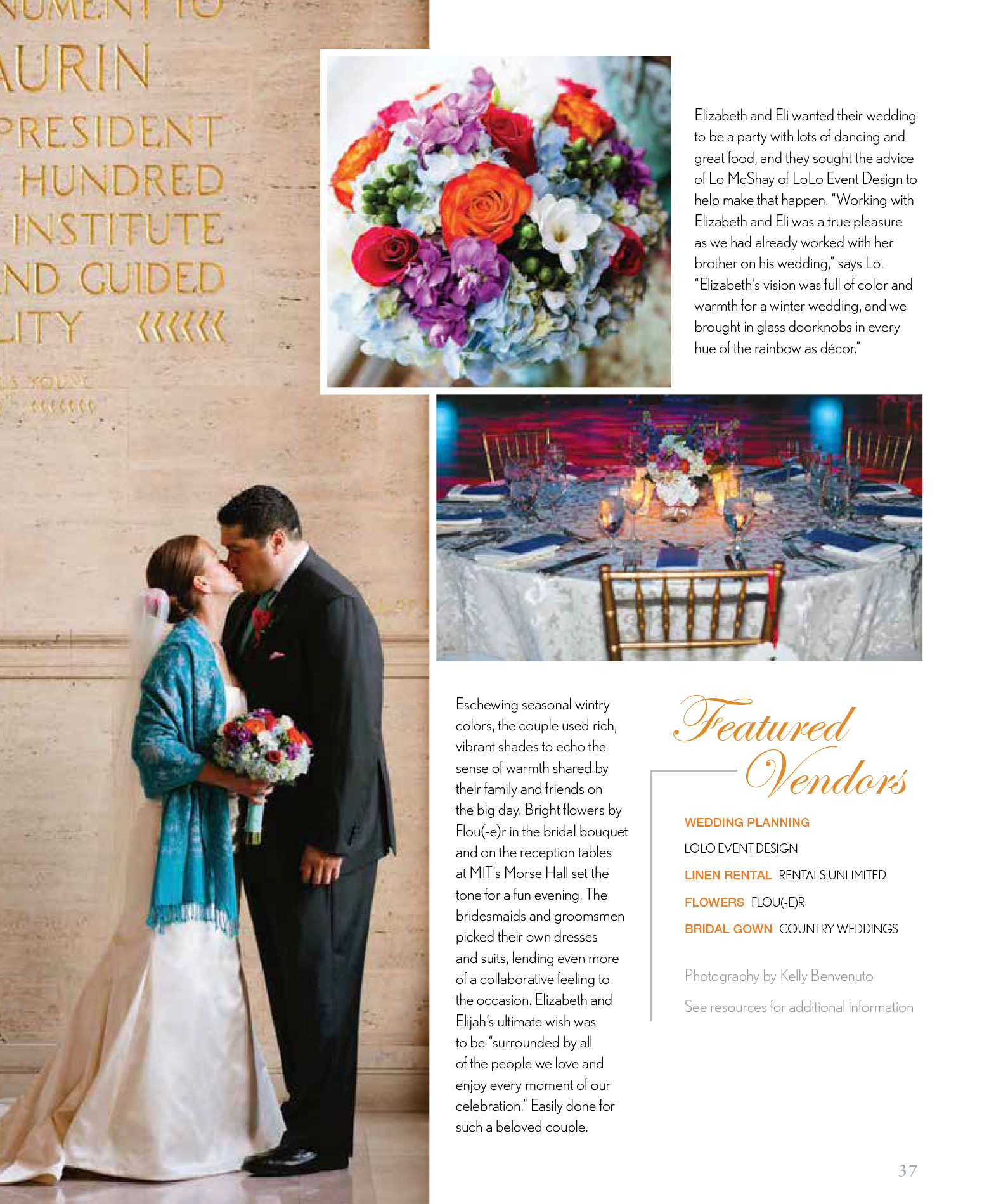 Real Weddings Boston | SNEW 2014