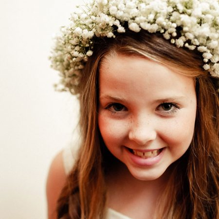 Flower Girl - Hair Piece