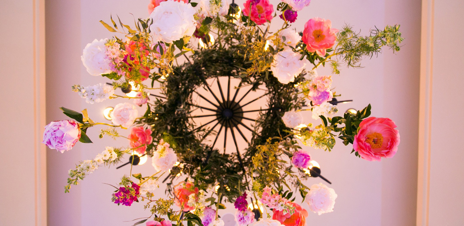 Floral Chandelier - Allegro Photography