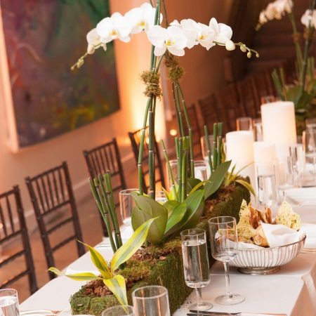 flou(-e)r Specialty Floral Events Contemporary Modern Wedding Centerpiece Style