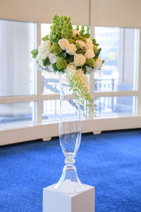 flou(-e)r Specialty Floral Events Boston Harbor Hotel Wedding Floral Design