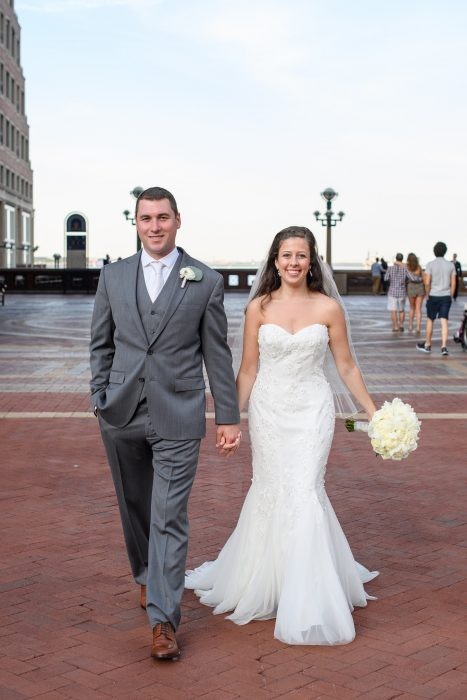 flou(-e)r Specialty Floral Events Boston Harbor Hotel Wedding Terrace