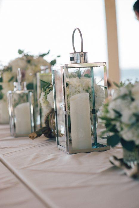 flou(-e)r Specialty Floral Events Ocean Cliff Beach Wedding Decor