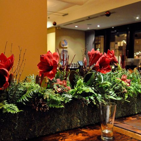 Flou(-e)r - Accent Greenery Centerpiece - Via Matta/Corinthian Events