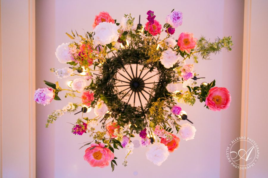 Wedding Floral Chandelier