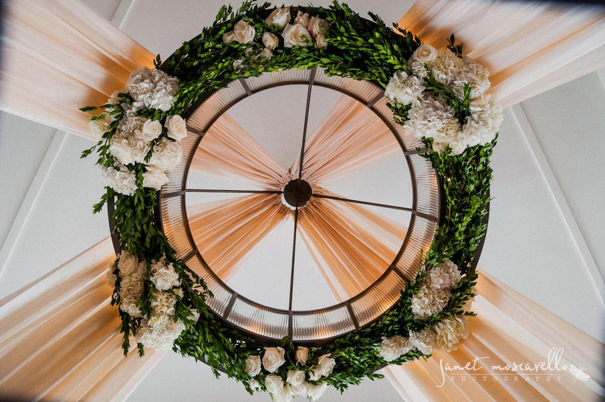 Janet Moscarello - Floral Chandelier
