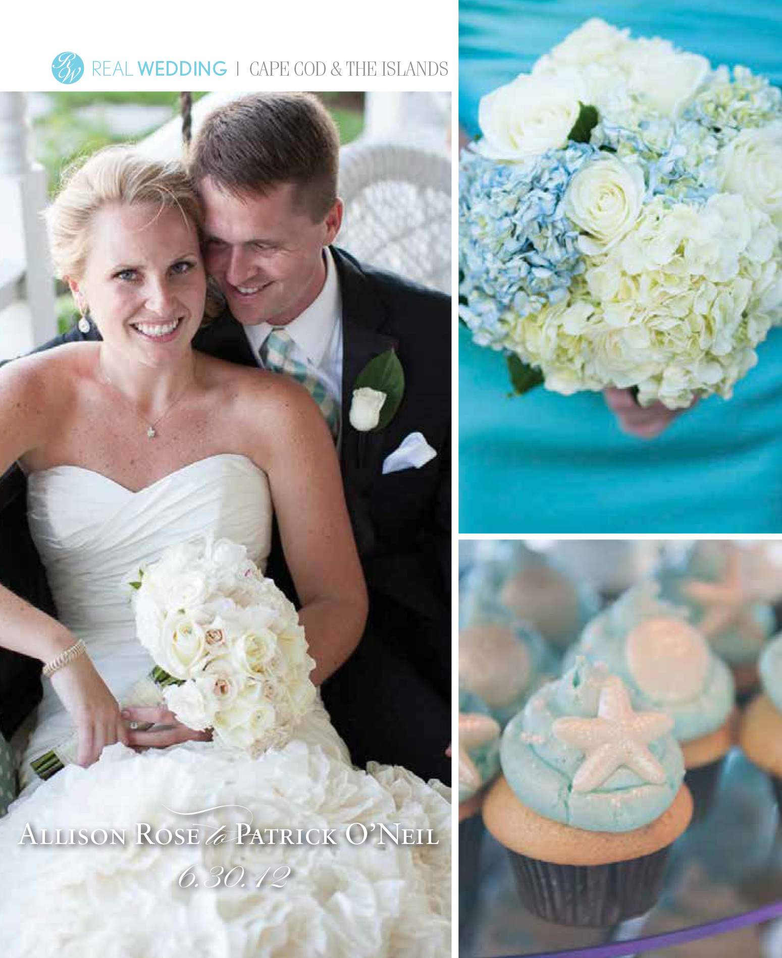 SNEW Real Wedding - Cape Cod & the Islands