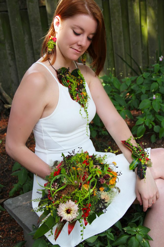 Wearable Floral Art
