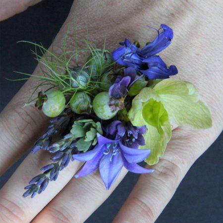 Wearable Floral Art