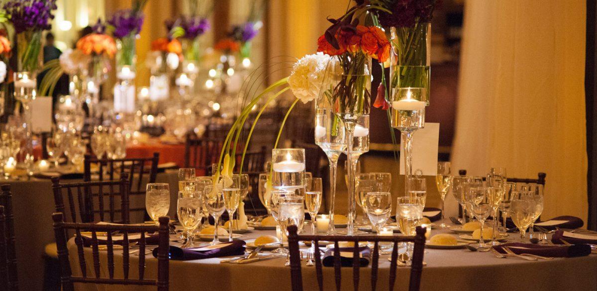 Flou(-e)r Wedding Table Centerpiece