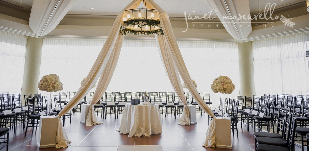 Flou(-e)r Wedding Chuppah - Janet Moscarello Photography