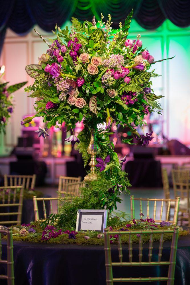 Traditional Wedding Centerpiece flou(-e)r Specialty Floral Events