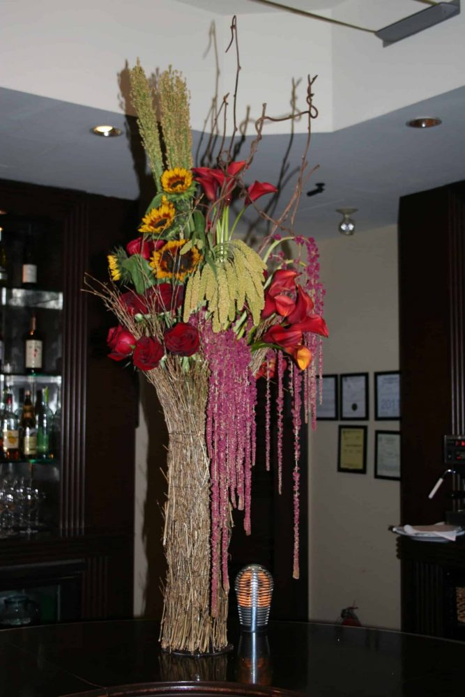 Flowers for Bar at Events
