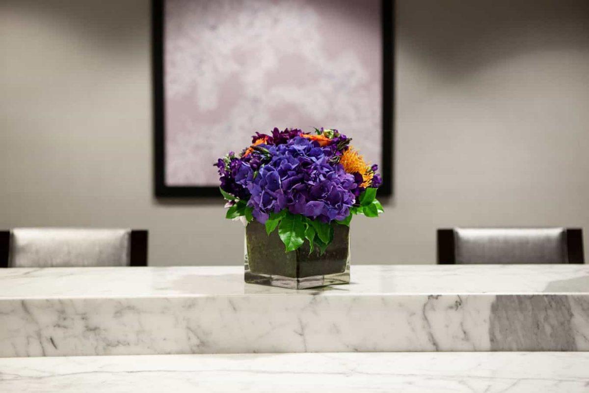 Front Desk Flowers