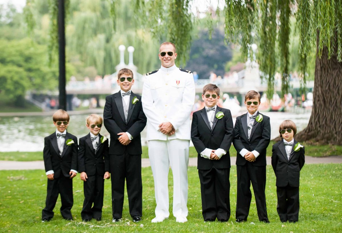 Men Wedding Party Flowers