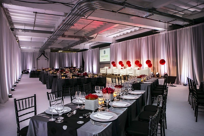 Modern Event Decor