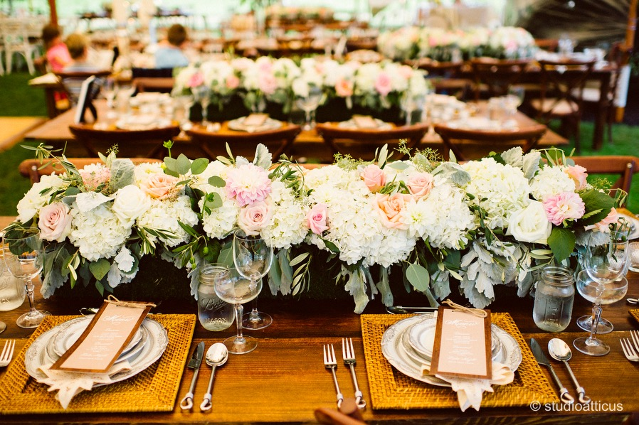 flou(-e)r specialty floral events summer wedding flower inspiration Studio Atticus