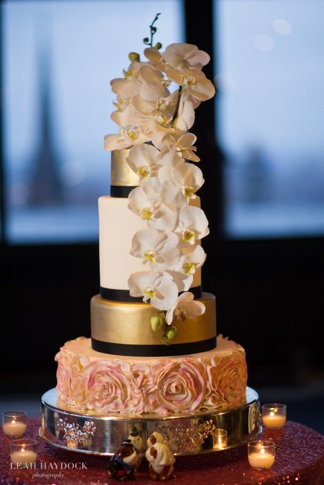 Boston Wedding Flowers - Wedding Cake Flowers