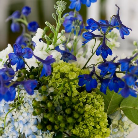 By Popular Demand Blue Wedding Flowers Flou Er Specialty Floral