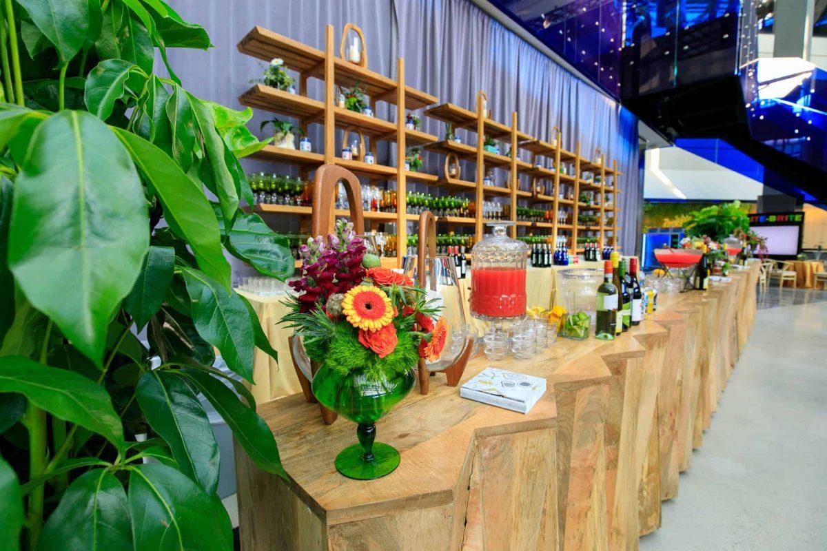 Apollo Anniversary Event Bar Décor