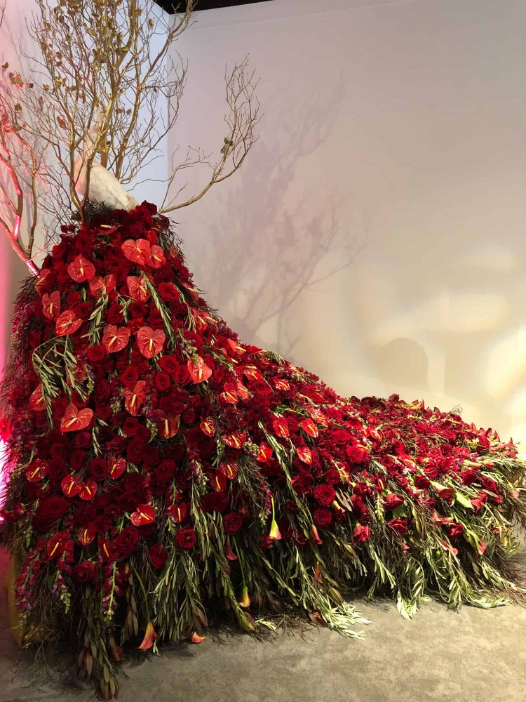 Floral Sculpture for Nonprofit Galas